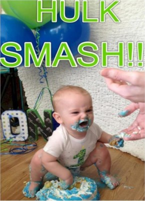 Incredible Baby Hulk Smash