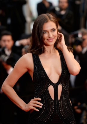 Irina Shayk And More In Daring Dresses At Cannes 2013
