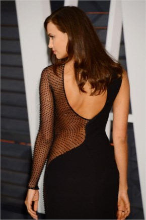 Irina Shayk At 2015 Vanity Fair Oscar Party
