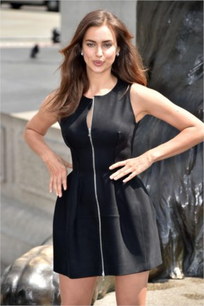 Irina Shayk In Mini Dress – 'Hercules' Photocall In London 2014