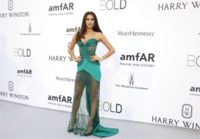 Irina Shayk Style | attends amfAR Cinema Against AIDS Gala 2015 in Antibes at France