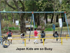Japan Kids are so Busy