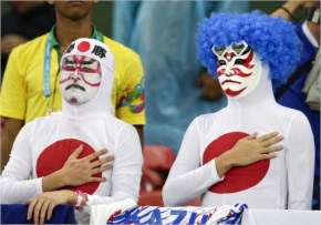 Japanese Soccer Fans fifa world cup 2014
