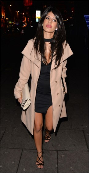 Jasmin Walia Night Out Style – at Cafe De Paris in London – January 2015