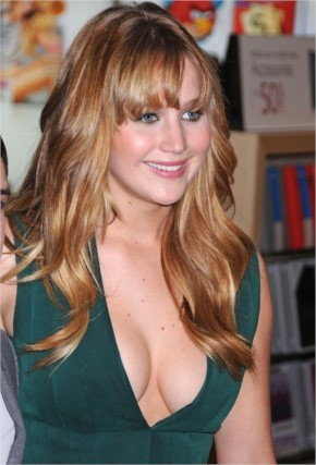 Jennifer lawrence Beautiful Hair Style