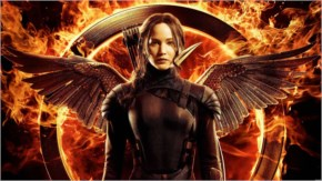Jennifer Lawrence in Hunger Games Mockingjay Part 1