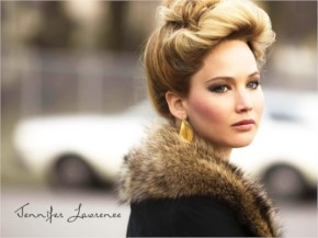 Jennifer lawrence Look Pretty With Beautiful Hair Style