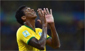 Jo of Brazil reacts during the 2014 FIFA World Cup Brazil Group A match between Brazil