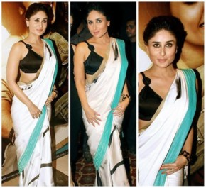 Kareena Kapoor gives a different trend of saree Collection to Bollywood