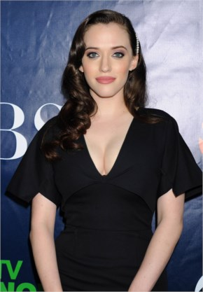 Kat Dennings – CBS, CW And Showtime Summer 2014