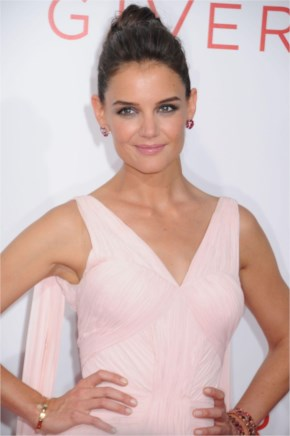 Katie Holmes – 'The Giver' Premiere In New York City
