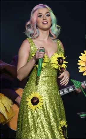 Katy Perry Wears Controversial Dress in Taipei