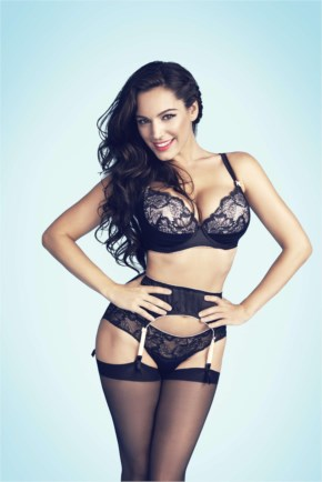 Kelly Brook In New Look Lingerie Photoshoot 2014