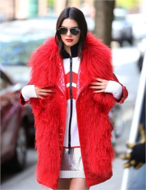 Kendall Jenner Vogue Photoshoot at New York City