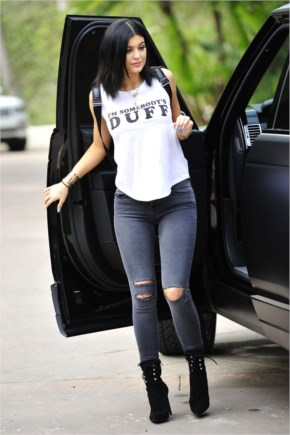 Kylie Jenner looking Stunning in Stylish Outfits at Malibu