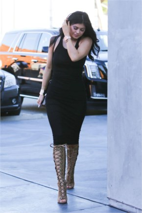 Kylie Jenner Style – Out in West Hollywood, February 2015