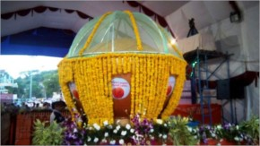 'Ladoo' weighing 11,111kg offered at Ambaji temple