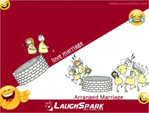 Love Marriage vs Arrange Marriage    Funny Picture