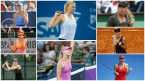 Maria Sharapova Best Tennis Outfit wears