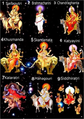 May All The Nine Forms Of Goddess