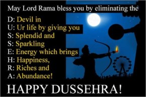 May Lord Rama bless you by eliminating