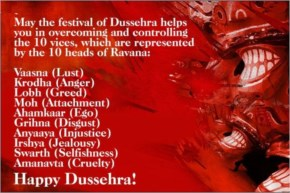 May the festival of Dussehra