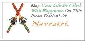 May Your Life Be Filled With Happiness On This Pious Festival Of Navratri