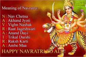 Meaning of Navratra