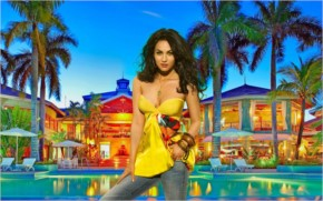 Megan Fox in Jamaica Vacations Resort