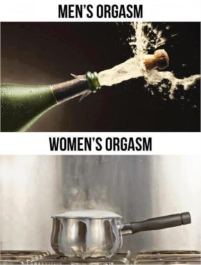 Men v/s Women Orgasm