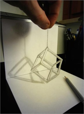 Mind Blowing Anamorphic Drawings Leap Off the Page