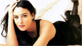 Monica Bellucci an italian actress