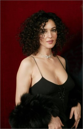 Monica Bellucci Curly