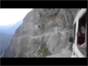 Most Amazing World's Dangerous road in Himachal