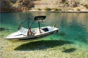 Most Wonderful Picture of Boat on crystal clear water