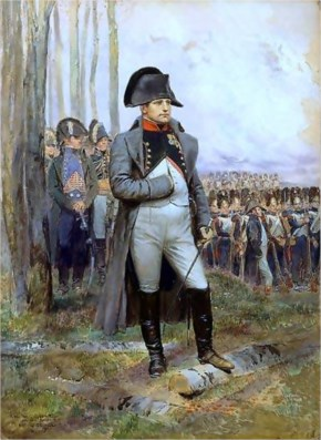Napoleon wasn't short. He was actually above the average Frenchman.
