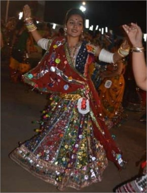 Navratri 2014 seventh Day Images 2