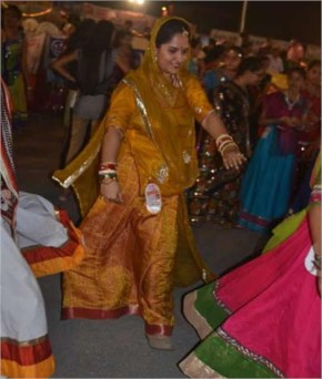 Navratri 2014 Seventh Day Images