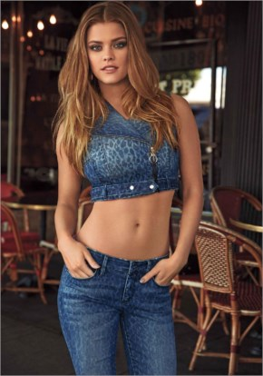Nina Agdal – Bebe's Just Your Luxe Collection By David Roemer