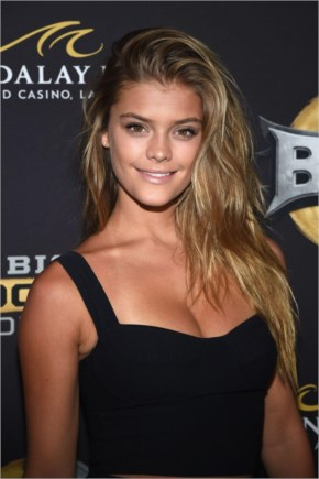Nina Agdal – Big Knockout Boxing Inaugural Event In Vegas