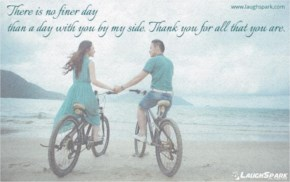 No Finer Day Than a Day With You - Love Quotes For Her From The Heart