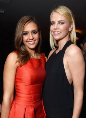 Perfection Personified - Jessica Alba and Charlize Theron
