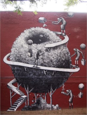 Phlegm's Latest 3d Street Art