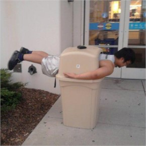 25+ Ridiculous Planking found at the weird places