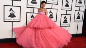 Rihana Look Gorgeuos in 57th Annual Grammy Awards