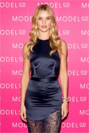 Rosie Huntington-Whiteley – Launches Modelco Natural Skincare Collection In Sydney