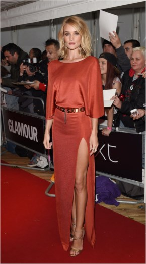 Rosie Huntington-Whiteley Style | Glamour Women Of The Year Awards  2015 at London