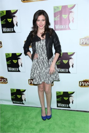 Ryan Newman - 2015 Celebrity Photos - 8216 Wicked 8217 Musical Opening Night in Hollywood