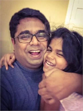 Sachin Kalbag Posting of #selfieswithdaughter for Support PM Narendra Modi