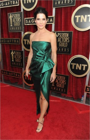 Sandra Bullock Style at the SAG Awards